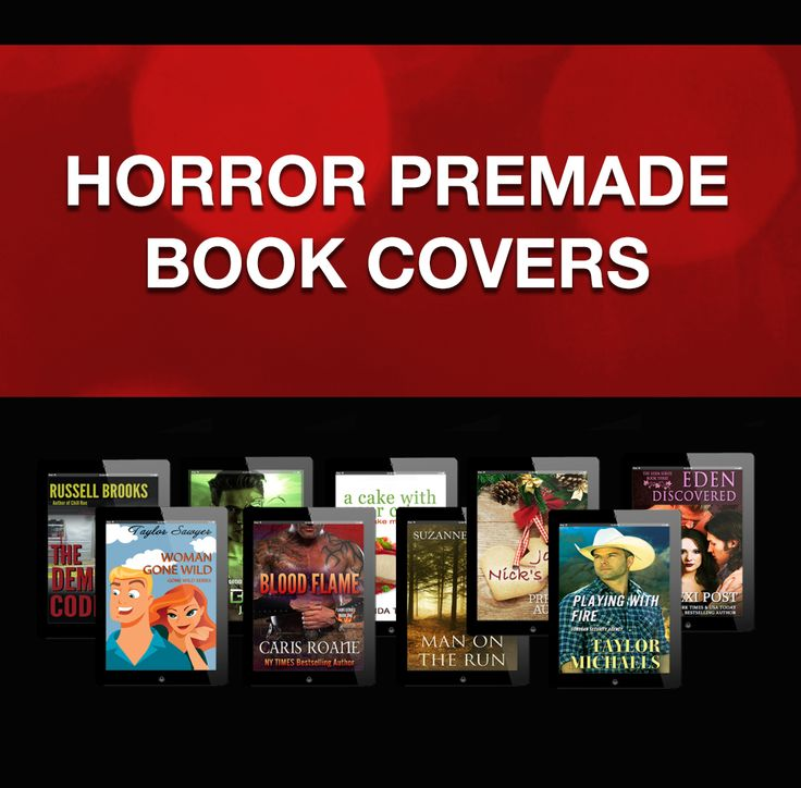 Horror Premade Book Covers