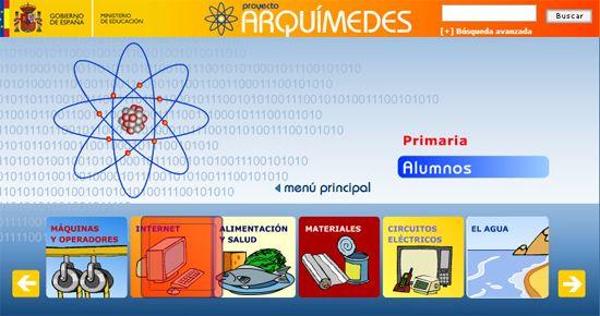 Actividades Ciencias- Proyecto Arquimides