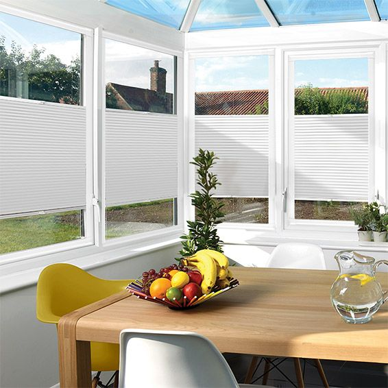 DuoShade Polar White PerfectFIT Thermal Blind from Blinds 2go