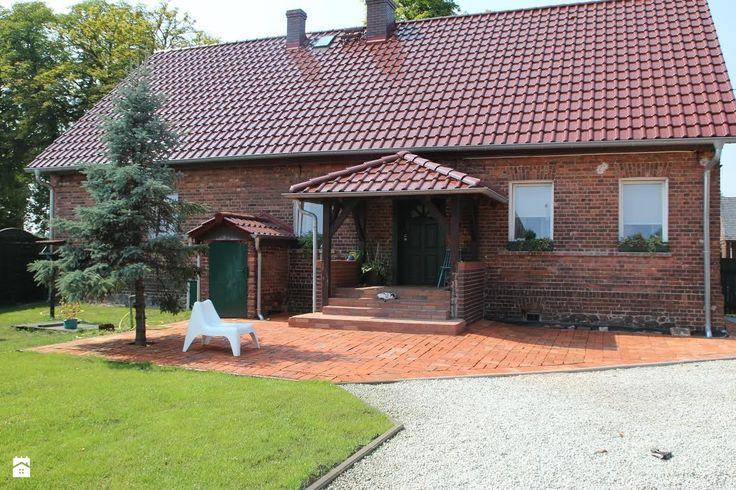 Ceglany dom. - zdjęcie od Agnieszka Kijowska - Domy - Styl Rustykalny - Agnieszka Kijowska
