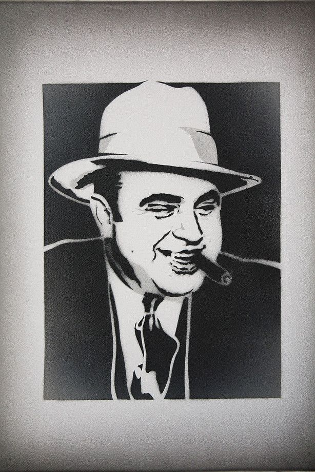 Al Capone Quote Canvas Wall Art By Unknown Artist Icanvas Mafia Quote Al Capone Quotes Gangster Quotes