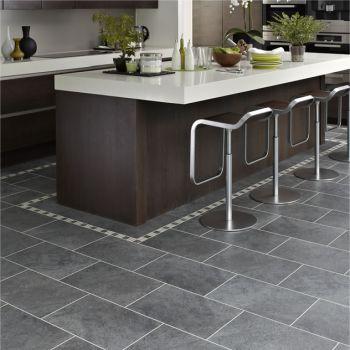 Karndean Knight Tile Cumbrian Stone Vinyl Flooring Tiles - Every Floor Direct