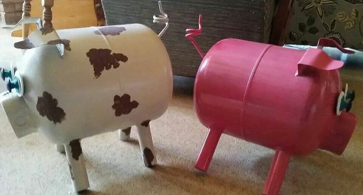 Propane tank pigs