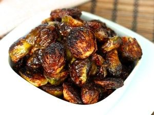 Crispy Asian Brussels Sprouts   To my friends that love Brussels Sprouts, like I do.  These are delish!  Must try
