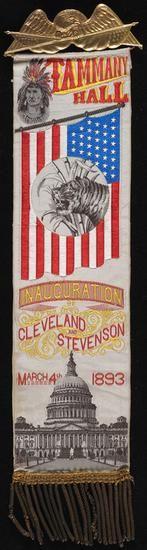 Tammany Hall Inauguration of Cleveland and Stevenson, 1893