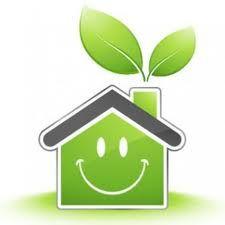 go green. Solar power for the enviroment