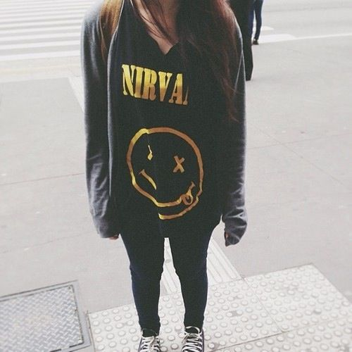 Nirvana Grunge Outfit
