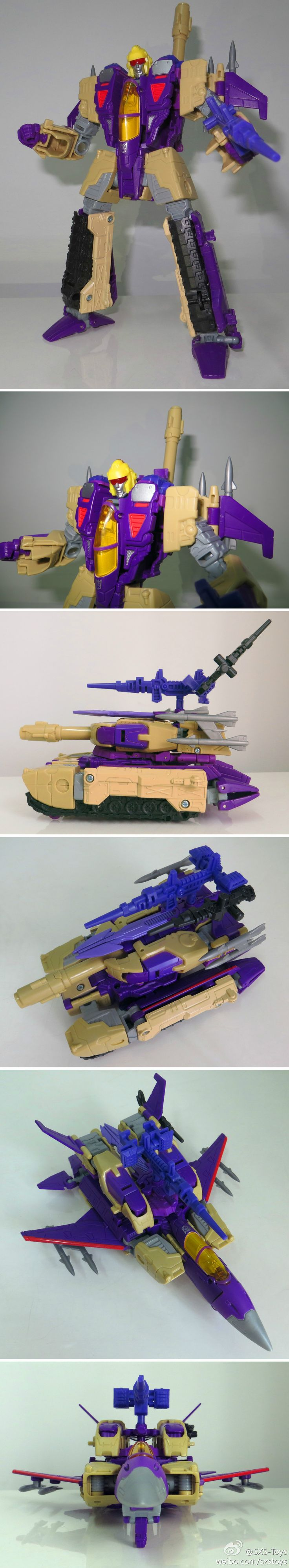 SXS announced A-03 upgrade for Generations Blitzwing #factorytoy