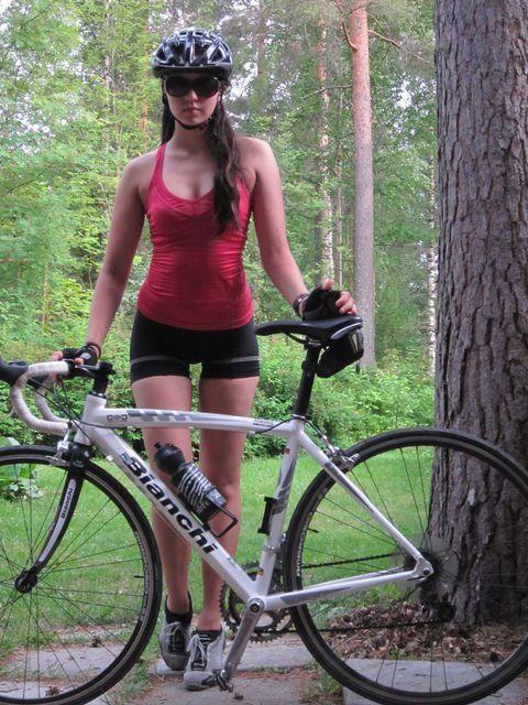 Girls On Bicycle
