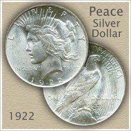 peace silver dollar value