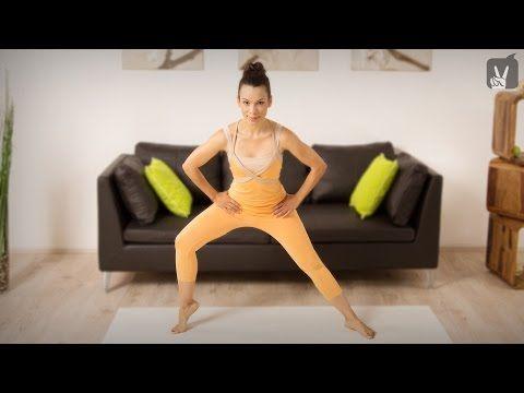 Pilates Skinny Jeans: Das Anfänger Workout für schlanke Beine! – YouTube – Fitness