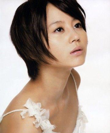 後ろ髪を長めに残したくびれショート☆ 堀北真希のショートヘア一覧。