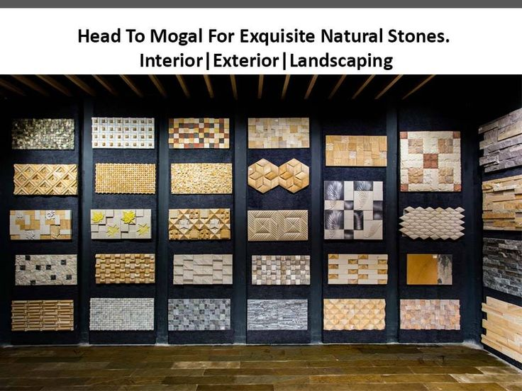 Head To Mogal For Exquisite Natural Stones Landscaping! Address : G-29,30,31 Samarth Acquisti, New Citylight Road, Althan, Surat Contact : 9924346381  #Decor #Store #Stones #NaturalStones #EcofriendlyProducts #Tiles #Interior #Exterior #Landscaping #WallTiles #Mosaic #WallMural #KotaStone #SandStone #StoneVeneer #MogalNaturalStonePoint #CityShorSurat