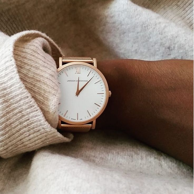 Gorgeous rose gold watch by Larsson & Jennings - shot by Beckychouette.