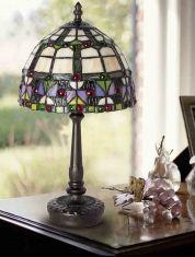 Lampade da tavolo Tiffany : collezione VIDRIERA piccola