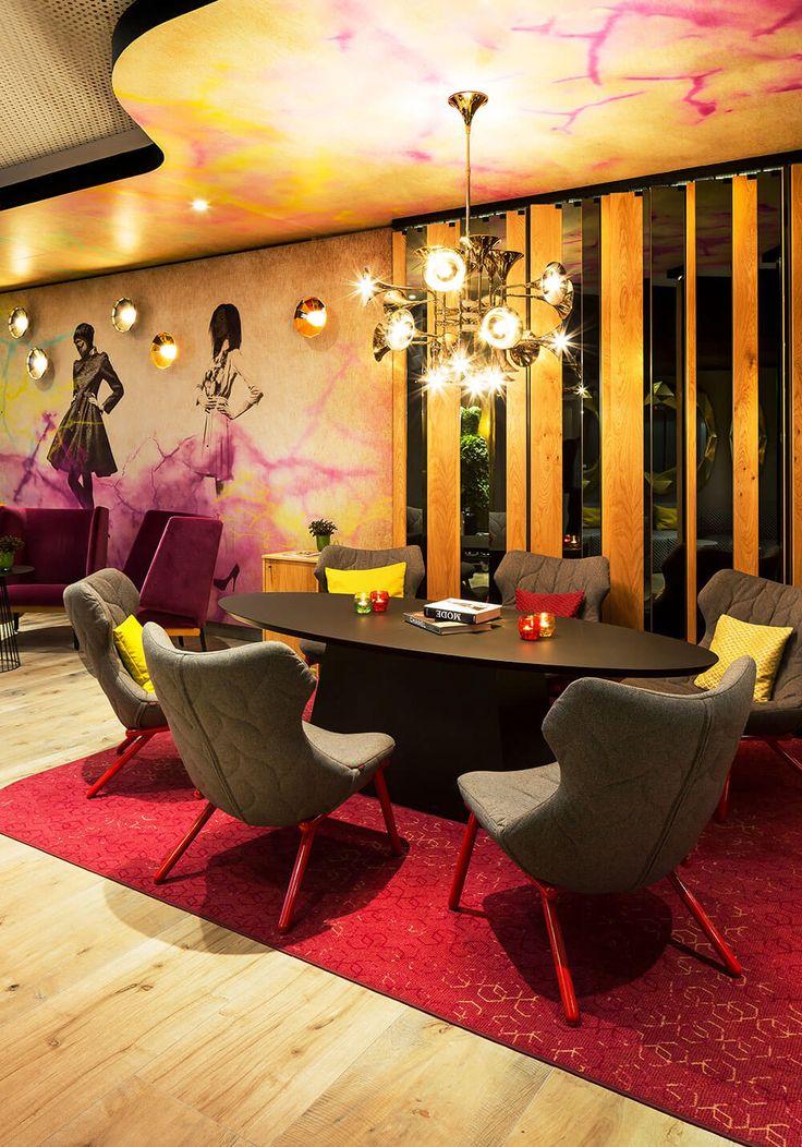 Feuer-modernen-design-rotes-esszimmer-23. esszimmer wohnideen ...