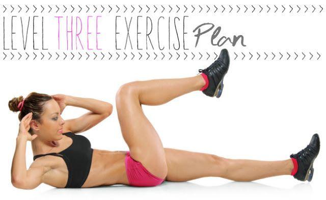 Level THREE Exercise Plan