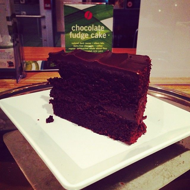 Have you tried our rich vegan chocolate cake yet?
