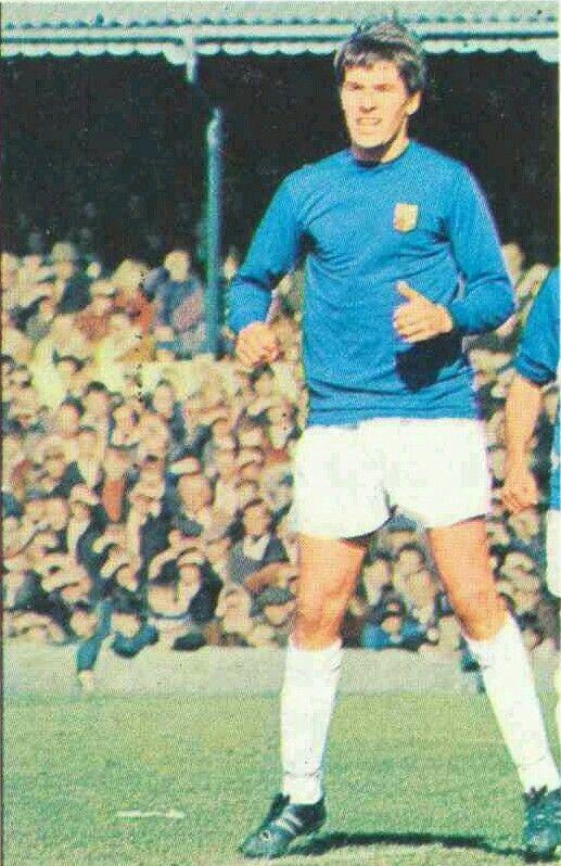 Derek Jefferson of Ipswich Town in 1968.
