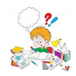 домашнее задание  в школе