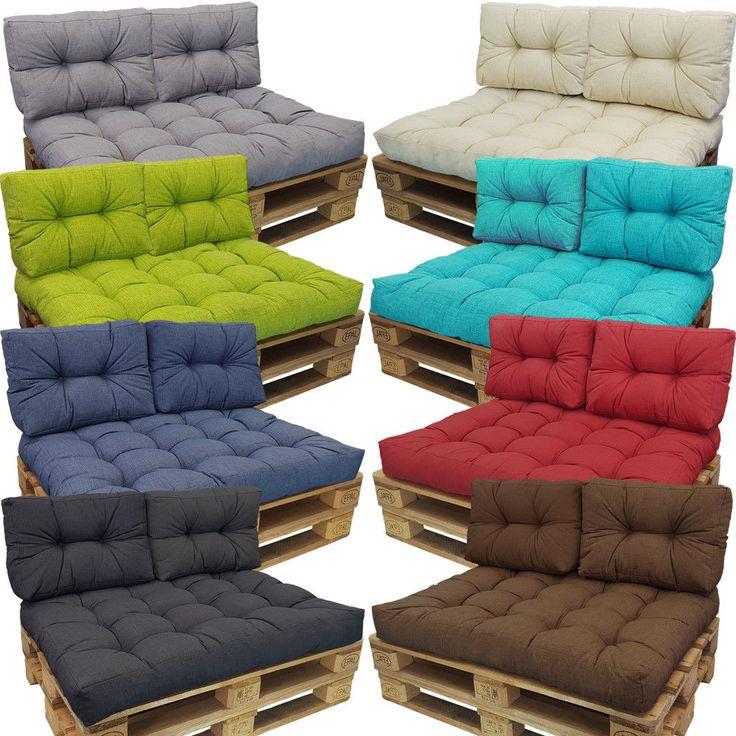 Palettes Coussin Euro palettes Coussin Outdoor Sofa TIRAGE Rembourrage de siège Coussin d'assise | Garten & Terrasse, Möbel, Auflagen | eBay!