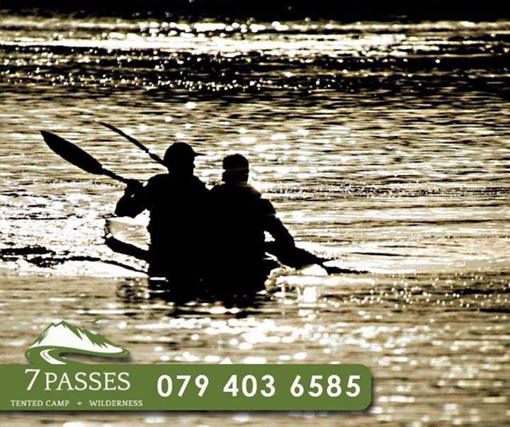 Enjoy a beautiful afternoon #kayaking and enjoying the scenery at #7passes. #Accommodation
