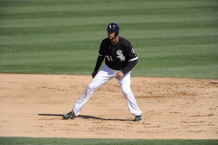 Alex Rios - Looks like he is having so much fun this year!