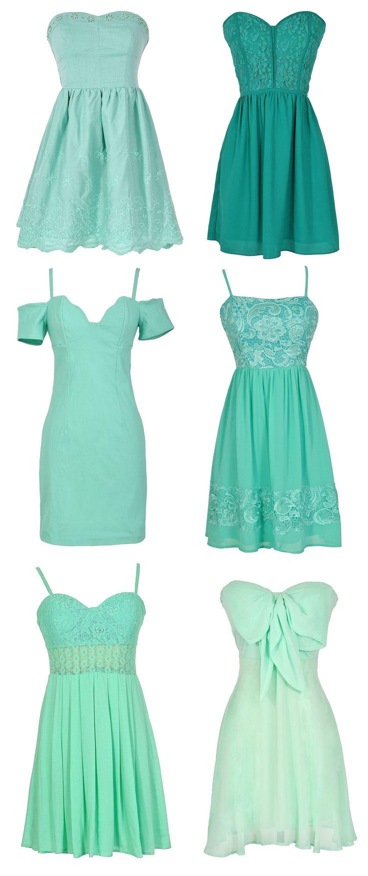25  best ideas about Teal dresses on Pinterest | Pretty dresses ...