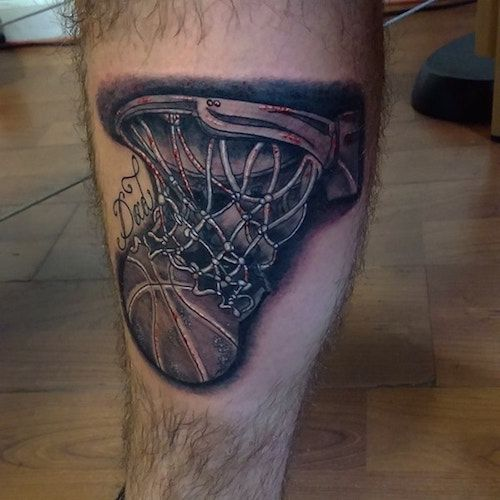 Basketball tattoos basketball tattoos tattoo and body art for Association of professional tattoo artists