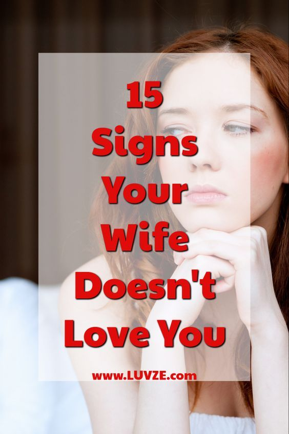 15 Signs Your Wife Doesnt Love You Anymore | Troubled
