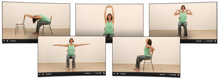 http://stoel-yoga.nl/stoelyoga-online  Oefeningen op de stoel nu ook online!