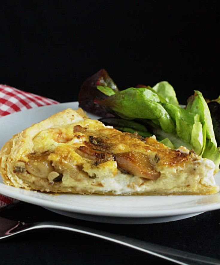 Ottolenghi's caramelized garlic tart | nathaliebak…