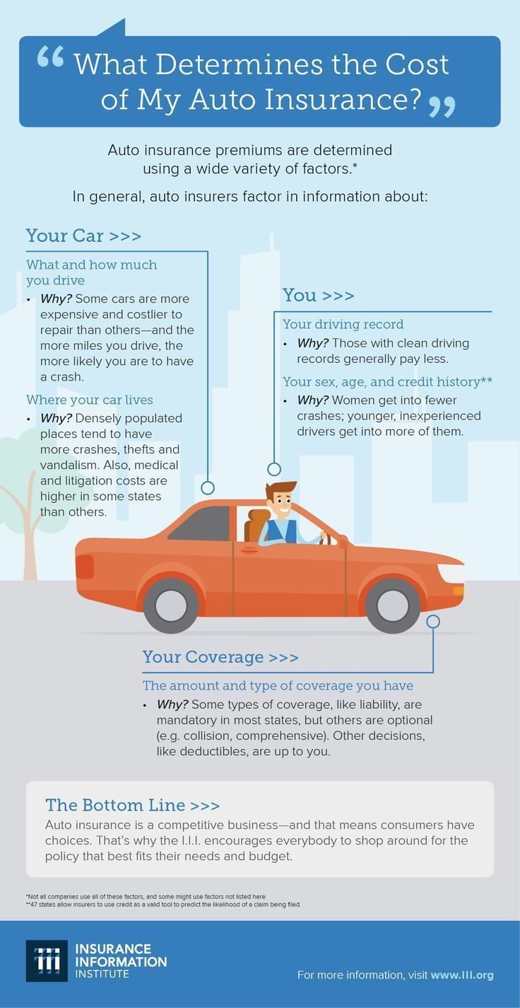 What Determines The Cost Of Your Auto Insurance Insurancequotes