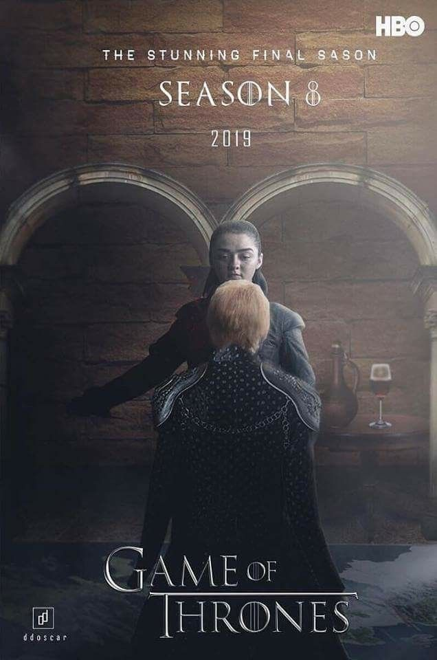 Got Game Of Thrones Final Season 8 2019 Hbo Advertising Poster For
