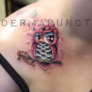 girly owl tattoos - Google Search @lisaminden