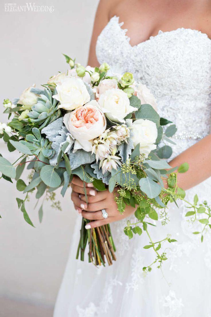 28 beaux bouquets de mariée pour vous inspirer