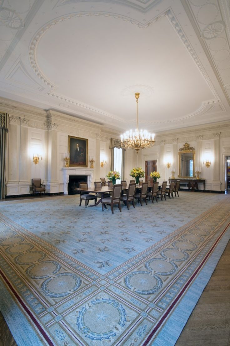 27 best the white house images on pinterest white homes white obama legacy includes a new look for white houses state dining room dzzzfo