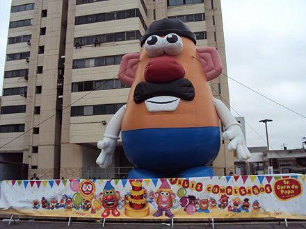 Mr. Potato Head Celebrates a Birthday in Lima, Peru - Mr. Potato Head - Wikipedia