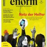 """""""Das Netz der Helfer"""", enorm Magazin, Heft 2/2013"""