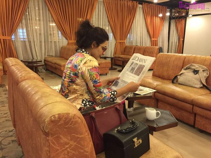 Pakistani actress Meera was the target of trolls on micro-blogging site Twitter, after she uploaded a picture of herself on the social media site reading Dawn newspaper. Meera has often been the ta…