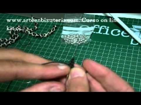 Curso de Bisuteria - Lección 1 - Kit 1 - YouTube