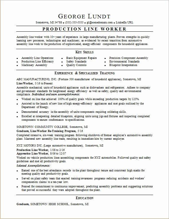 Production Assistant Job Description Resume Awesome Production Line Resume Sample Assistant Jobs Line Worker Job Resume Samples
