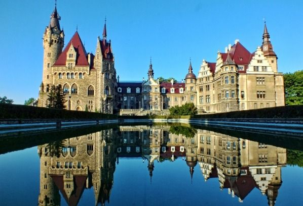 Moszna palace in Poland  From Apgmbc