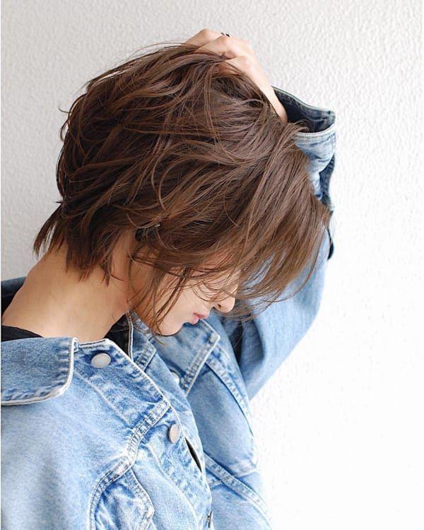 40代髪型ショートヘアくせ毛の方向けのヘアスタイルまとめ ショートヘア くせ毛 ヘアスタイル 髪型