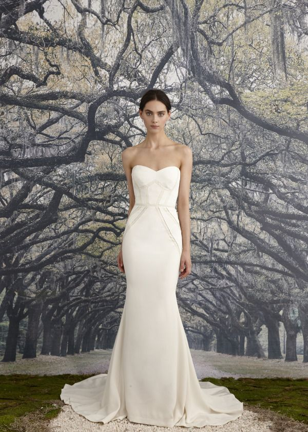 Nicole miller spring 2016 wedding dress wedding and for Nicole miller dresses wedding