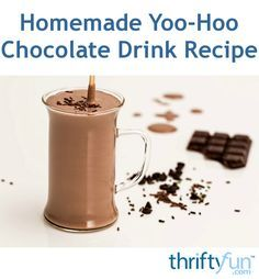 This page contains homemade yoo-hoo chocolate drink recipe. Making your favorite…