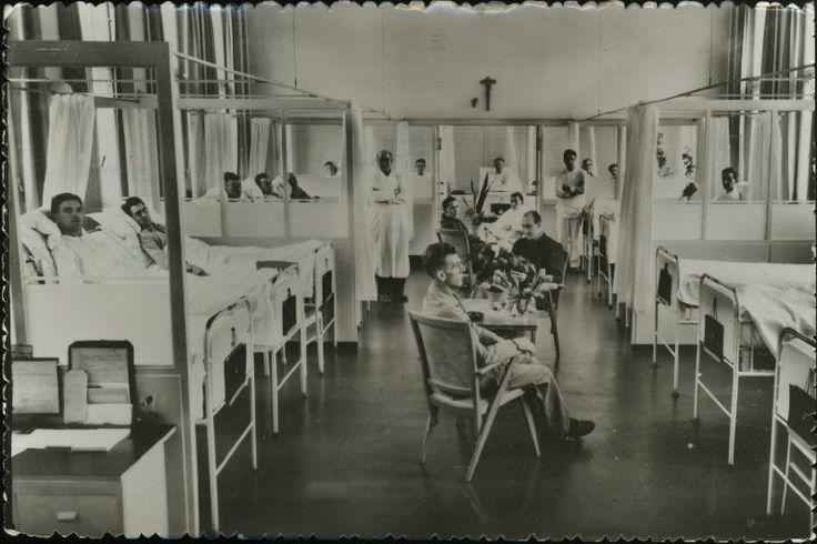 Mannenafdeling van het St.Jozefziekenhuis.