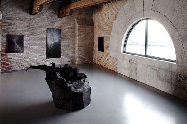 Mark Grotjahn, Untitled (Black Butterfly Filled in Black Mark Grotjahn 2004), 2004 @ Mapping the studio, Punta della Dogana