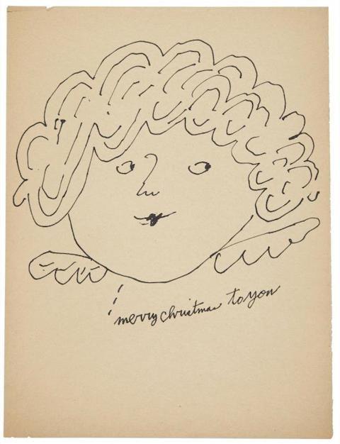 Andy Warhol's Christmas ArtChristmas Fairies, Warhol Christmas, Christmas Art, Favorite Art, Fairies Merry, Andy Warhal, Visual Art, Andy Warhol, Merry Christmas
