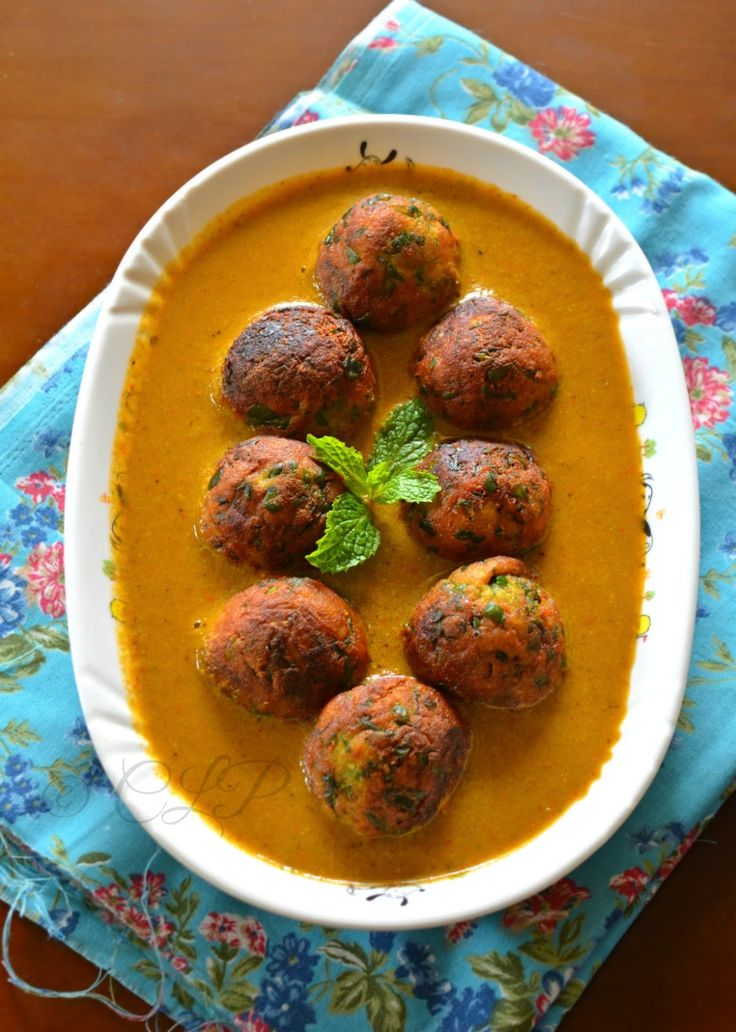 377 best punjabi food images on pinterest indian cuisine indian palak kofta curry low fat version forumfinder Gallery